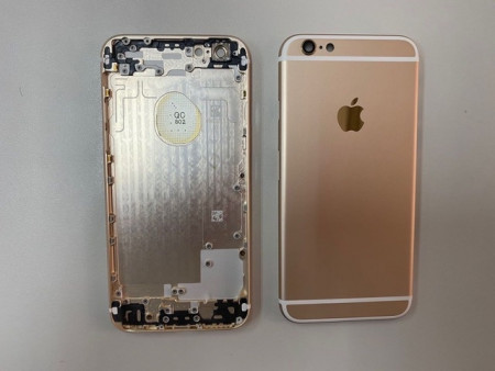 iPhone 6 Back Cover-Gold