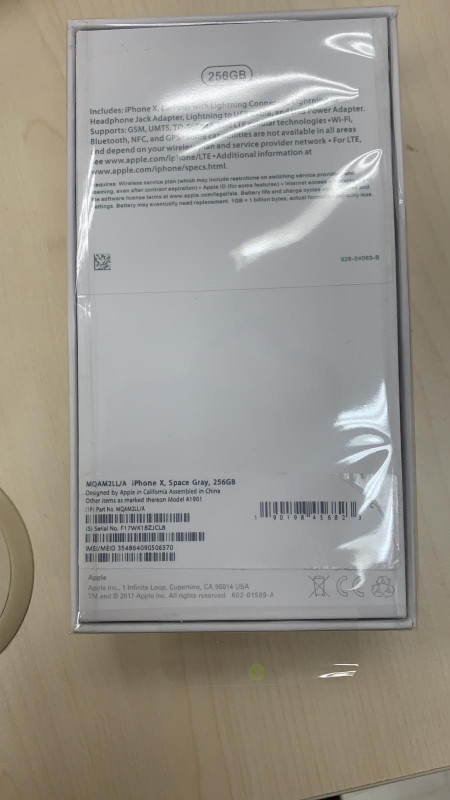 iPhone 7 Plus A used With Box and IMEI Label (WA)