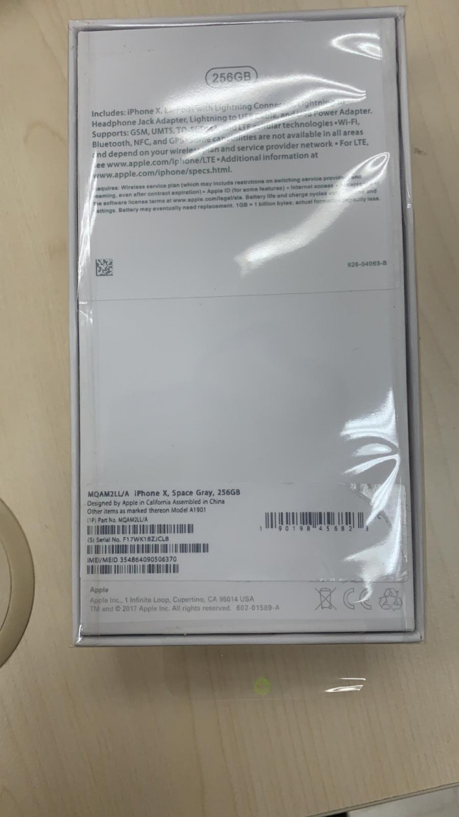 Iphone 7 Plus A Used With Box And Imei Label Wa